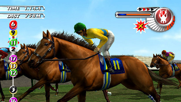 Gallop Racer 2003: A New Breed Screenshot 7