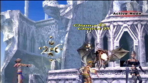 Final Fantasy X-2 Screenshot 1