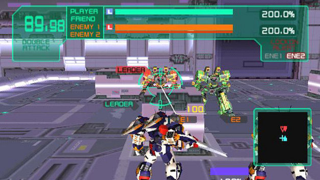Virtual On Marz Screenshot 13