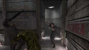 Resident Evil: Outbreak Screenshot 2