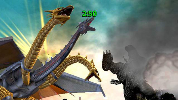 Godzilla: Save the Earth Screenshot 1