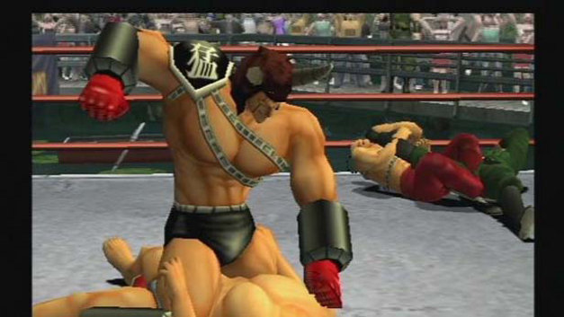 Galactic Wrestling: Featuring Ultimate Muscle Screenshot 4