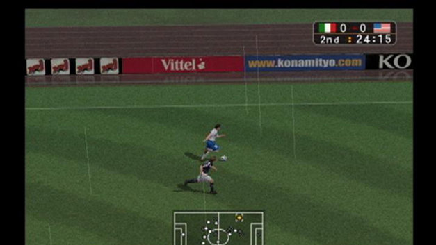 Winning Eleven 7 Screenshot 4