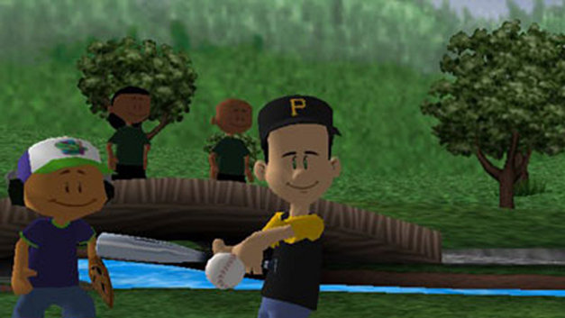 Backyard Baseball Screenshot 1 - Backyard Baseball Game PS2 - PlayStation
