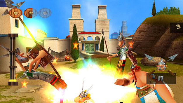 Asterix & Obelix: Kick Buttix Screenshot 1