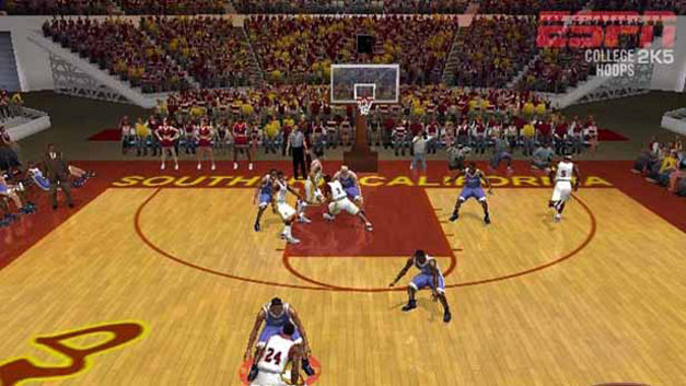 ESPN College Hoops 2K5 Screenshot 1