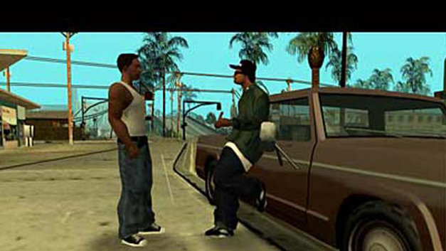 Grand Theft Auto San Andreas Game Ps2 Playstation