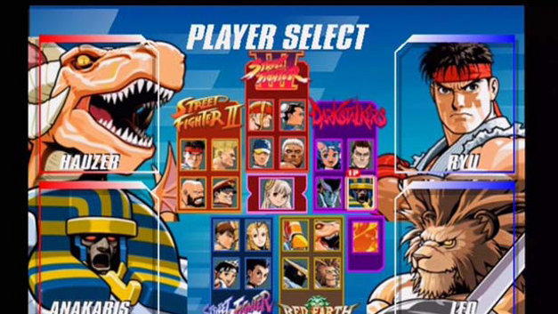 Capcom Fighting Evolution Screenshot 1