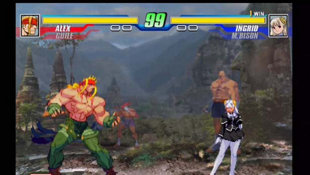 Capcom Fighting Evolution Screenshot 2