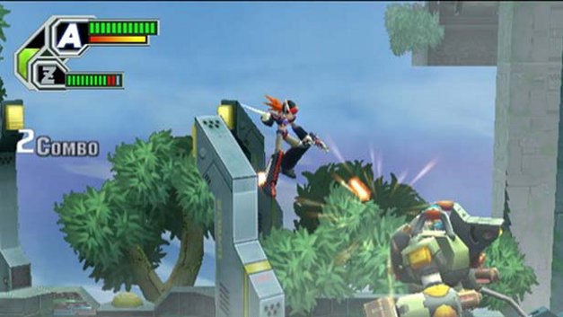 Mega Man X8 Screenshot 1