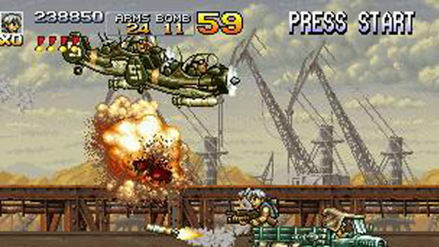 Metal Slug 4 & 5 Screenshot 1
