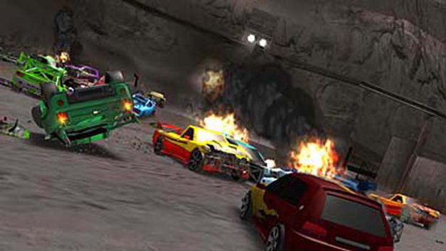 Crash 'N' Burn Screenshot 1