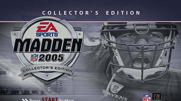 Madden NFL 2005 Special Collectors Edition