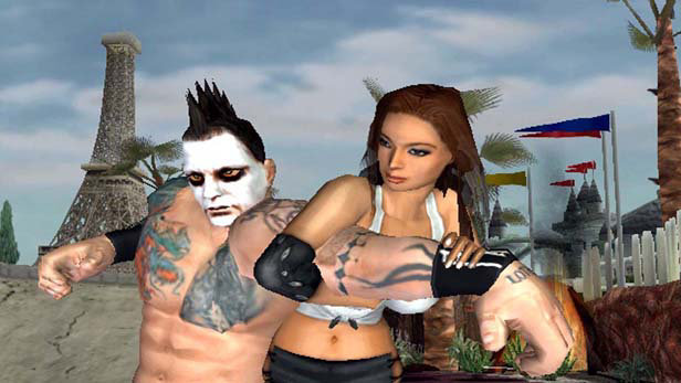 Backyard Wrestling 2: There Goes the Neighborhood Screenshot 5 - Backyard Wrestling 2: There Goes The Neighborhood Game PS2