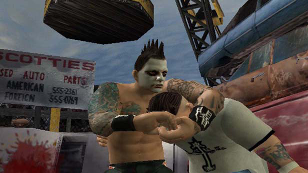 Backyard Wrestling 2: There Goes the Neighborhood Screenshot 6 - Backyard Wrestling 2: There Goes The Neighborhood Game PS2