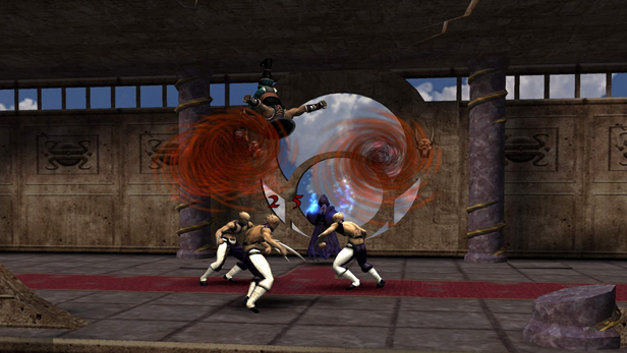 Mortal Kombat: Shaolin Monks Screenshot 1