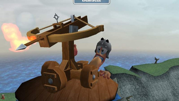 Worms Forts: Under Siege! Screenshot 1