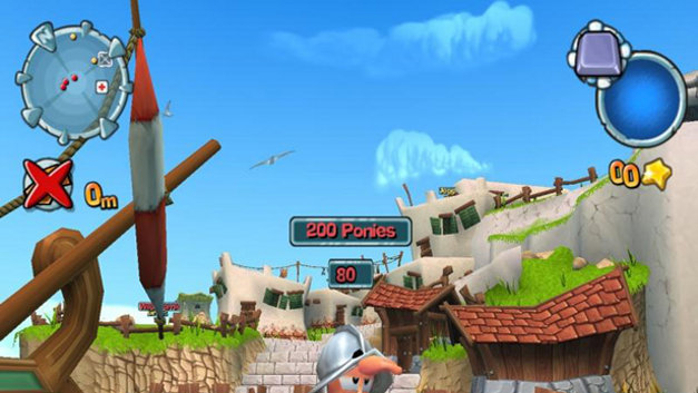 Worms Forts: Under Siege! Screenshot 4