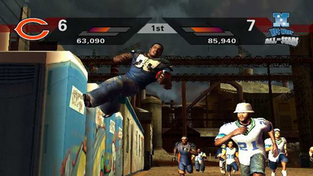 NFL Street 2 Screenshot 1