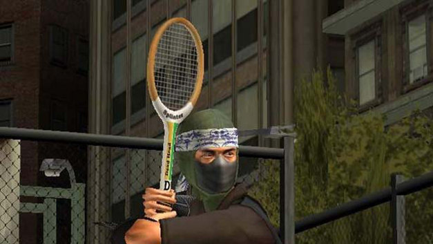 Outlaw Tennis Screenshot 1