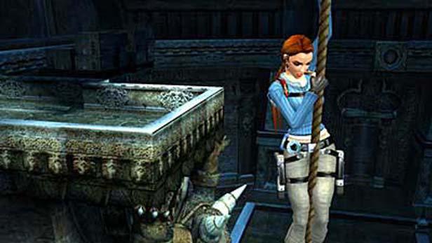 Lara Croft Tomb Raider Legend Game Ps2 Playstation