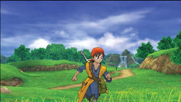 DragonQuest VIII: Journey of the Cursed King Screenshot 1