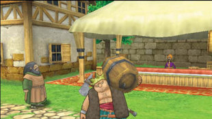 DragonQuest VIII: Journey of the Cursed King Screenshot 2