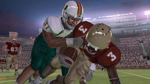 NCAA Football 06 Screenshot 1