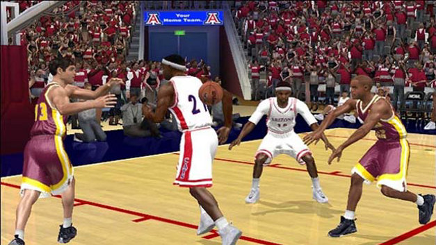 College Hoops 2K6 Screenshot 1