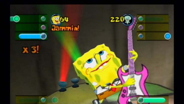 SpongeBob SquarePants: Lights, Camera, Pants! Screenshot 1