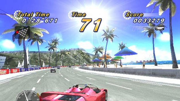 OutRun 2006: Coast 2 Coast Screenshot 1