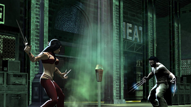 Marvel Nemesis: Rise of the Imperfects Screenshot 1