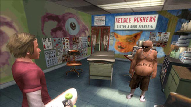 Tony Hawk's American Wasteland Collector's Edition Screenshot 1