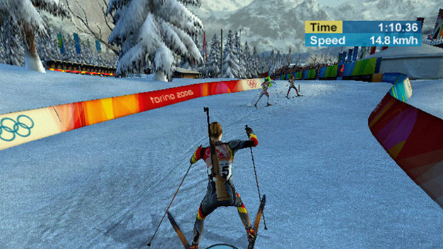 Torino 2006 - the Official Video Game of the XX Olympic Winter Games Screenshot 1