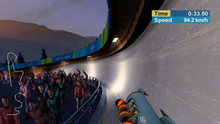 Torino 2006 - the Official Video Game of the XX Olympic Winter Games Screenshot 2
