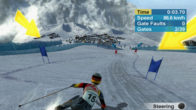 Torino 2006 - the Official Video Game of the XX Olympic Winter Games Screenshot 4