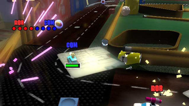 Micro Machines V4 Screenshot 1