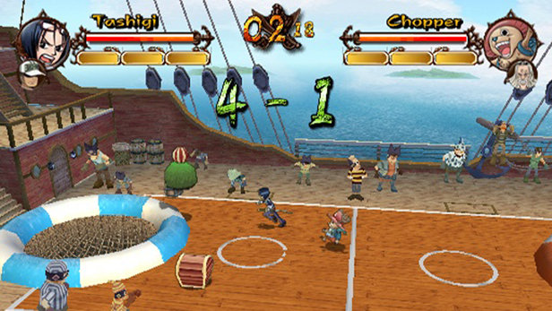 Hasil gambar untuk One Piece - Grand Adventure gameplay ps2
