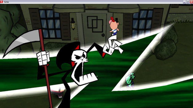 The Grim Adventures of Billy & Mandy Screenshot 1