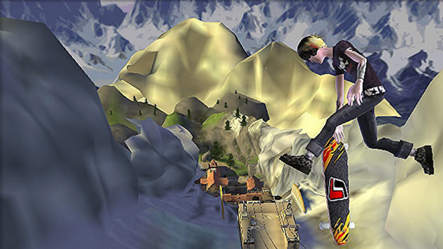 Tony Hawk's Downhill Jam Screenshot 1