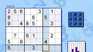 Carol Vorderman's Sudoku Screenshot 3