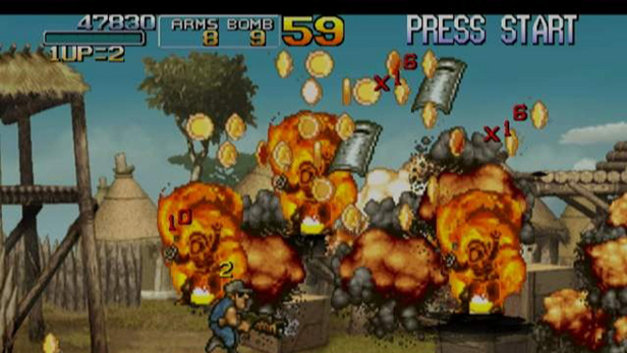 Metal Slug Anthology Screenshot 1
