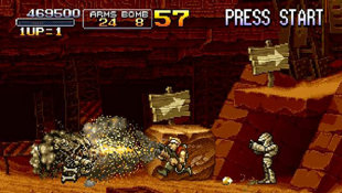 Metal Slug Anthology Screenshot 2