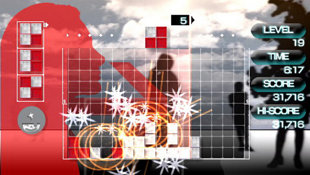 Lumines Plus Screenshot 2