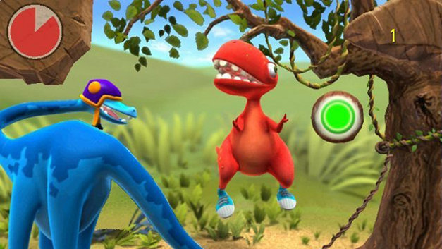 Konami Kids Playground: Dinosaur Shapes & Colors Screenshot 1