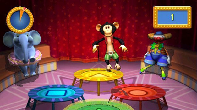 Konami Kids Playground: Alphabet Circus Screenshot 10