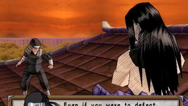 Naruto: Ultimate Ninja 2 Screenshot 1