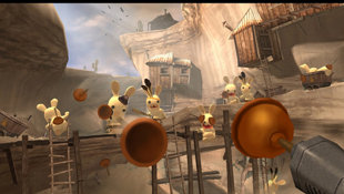 Rayman Raving Rabbids Screenshot 2