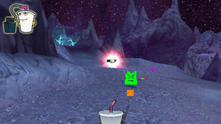 Aqua Teen Hunger Force Zombie Ninja Pro-Am Screenshot 3