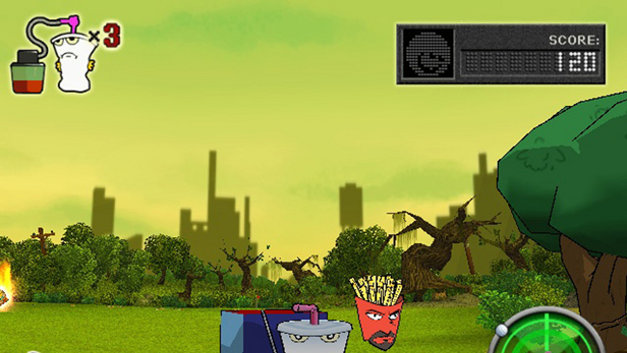 Aqua Teen Hunger Force Zombie Ninja Pro-Am Screenshot 4